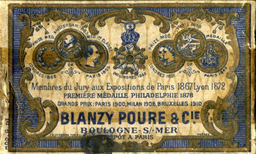 Box BLANZY POURE 058