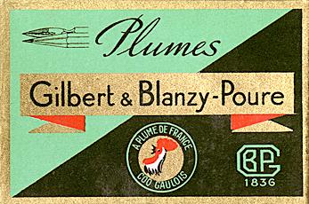 GILBERT & BLANZY-POURE