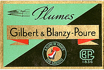 Gilbert Blanzy Poure Box