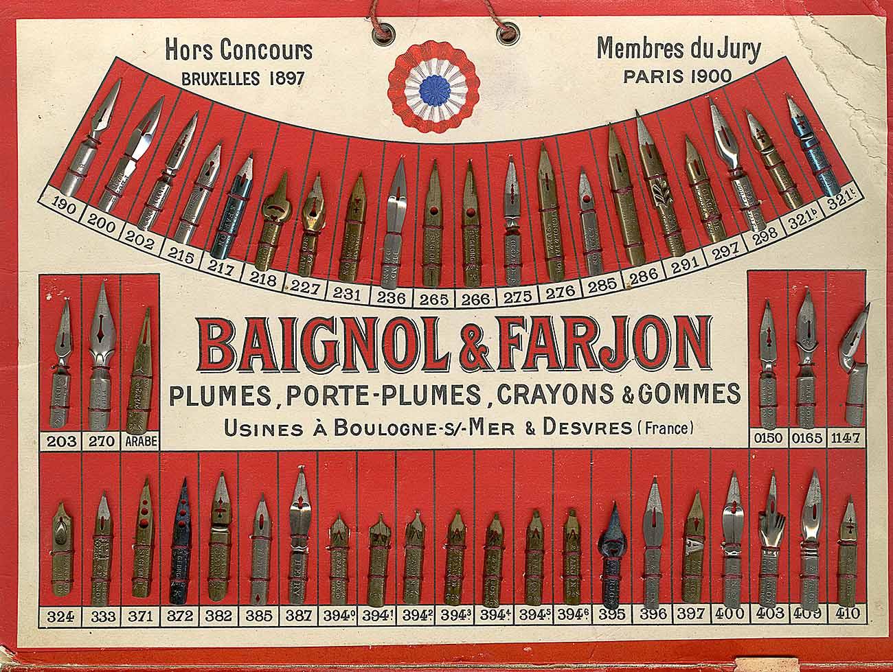 Baignol & Farjon Презентуар
